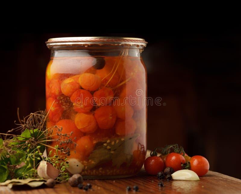 Tomatoes preserves