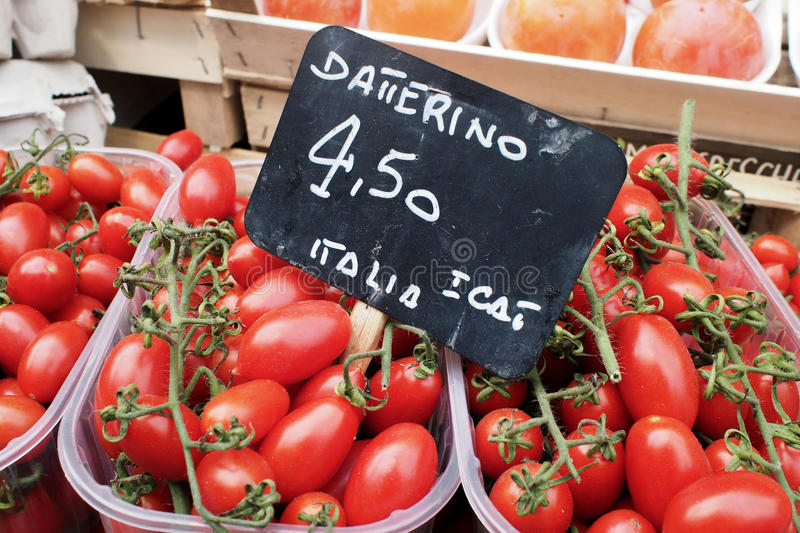 Download Tomatoes For Sale On Market Stall Stock Image - Image: 34705991