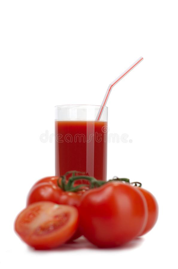 Download Tomatoes and tomato juice stock photo. Image of juicy - 8511212
