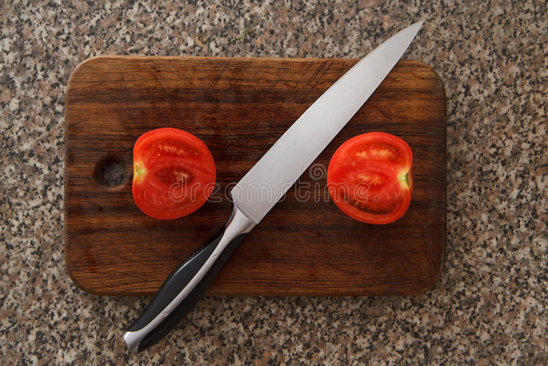 Tomatos stock photo