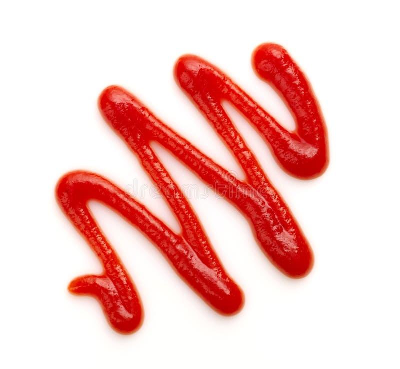 Tomatsås eller ketchup royaltyfri foto