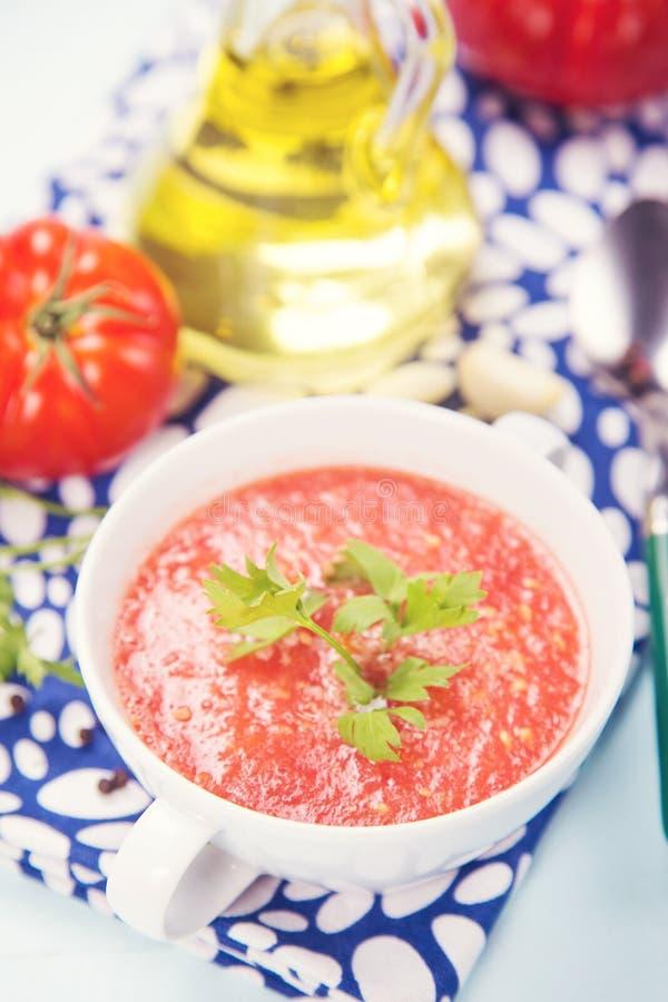 Tomatsoppa arkivbilder