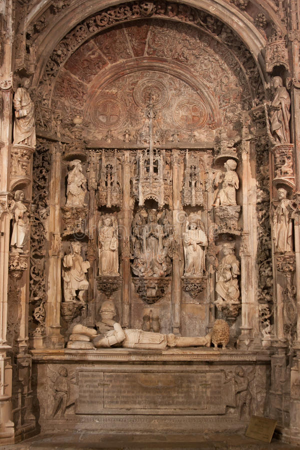 Download Tomb of Alfonso Henriques stock image. Image of tomb - 27058853