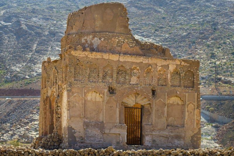 Tomb of Bibi Miriam stock photo