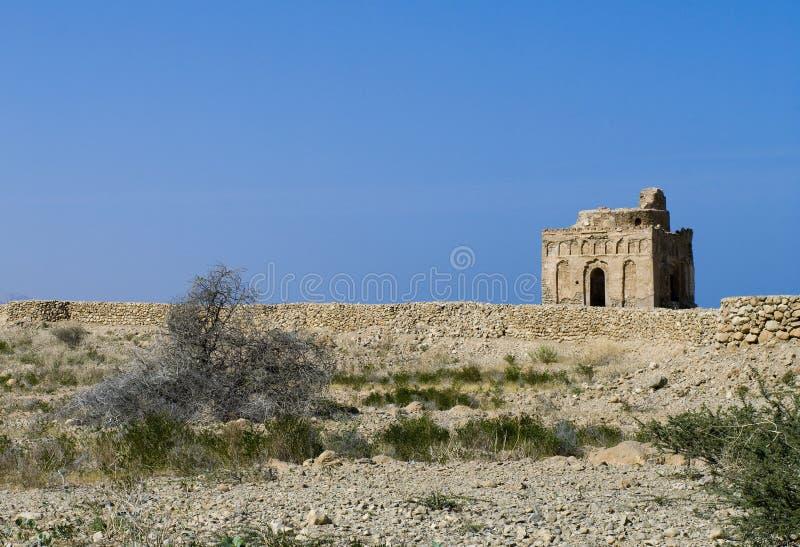 Tomb of Bibi Miriam, a holy woman, Qalahat, Oman, stock photos