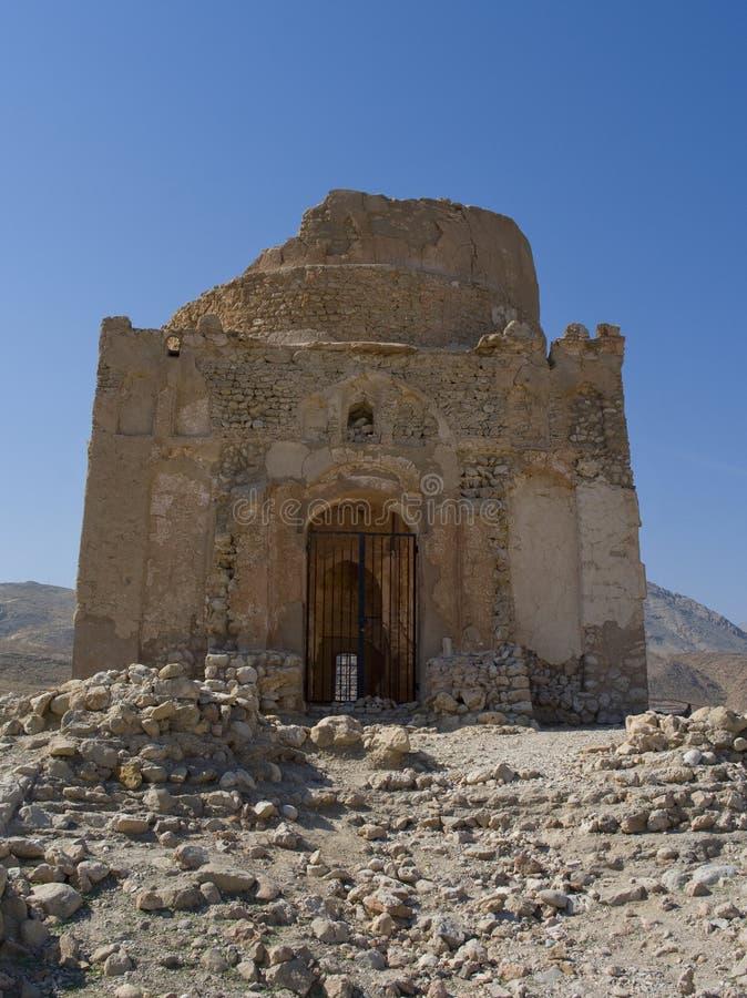 Tomb of Bibi Miriam , Oman stock photography