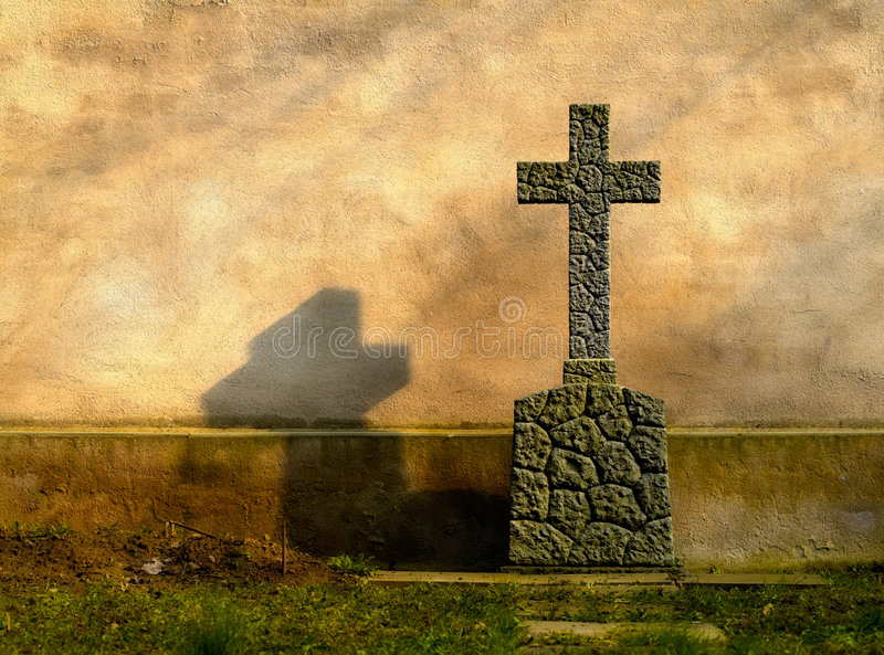 Tomb cross stock images