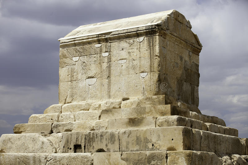 Tomb of Cyrus royalty free stock photo