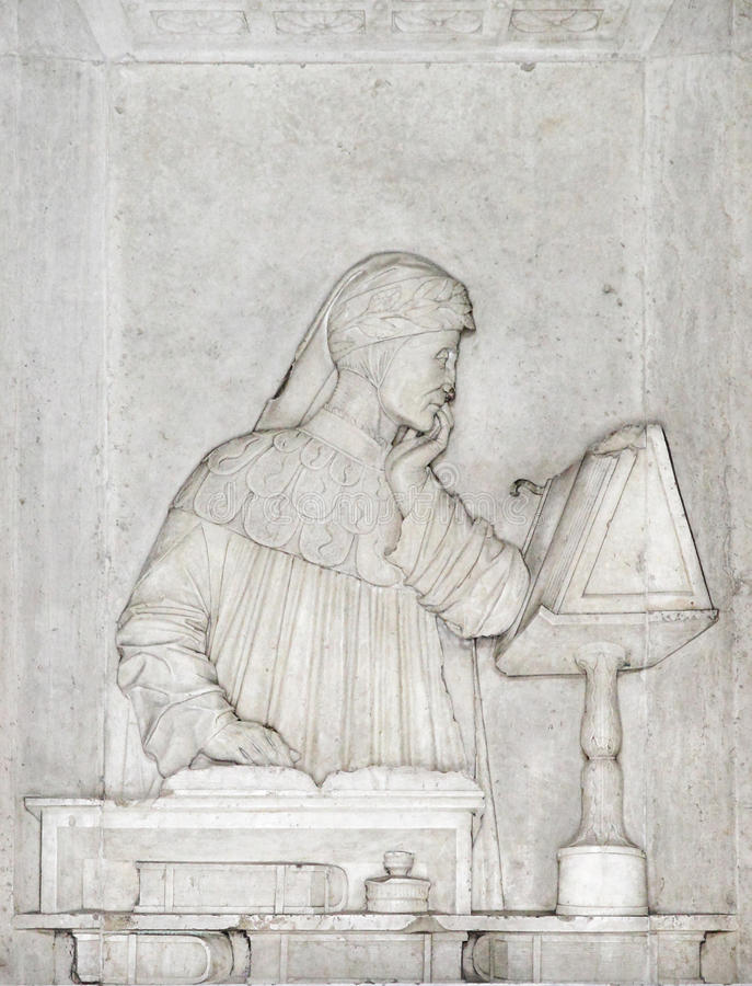 Tomb of Dante. Alighieri in Ravenna, Italy stock photos