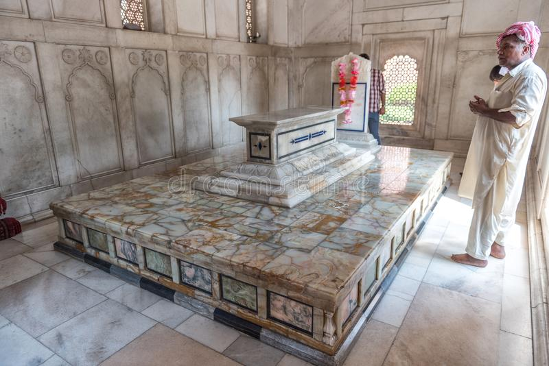 Tomb of Dr.Muhammad Iqbal, Lahore, Punjab, Pakistan stock photo
