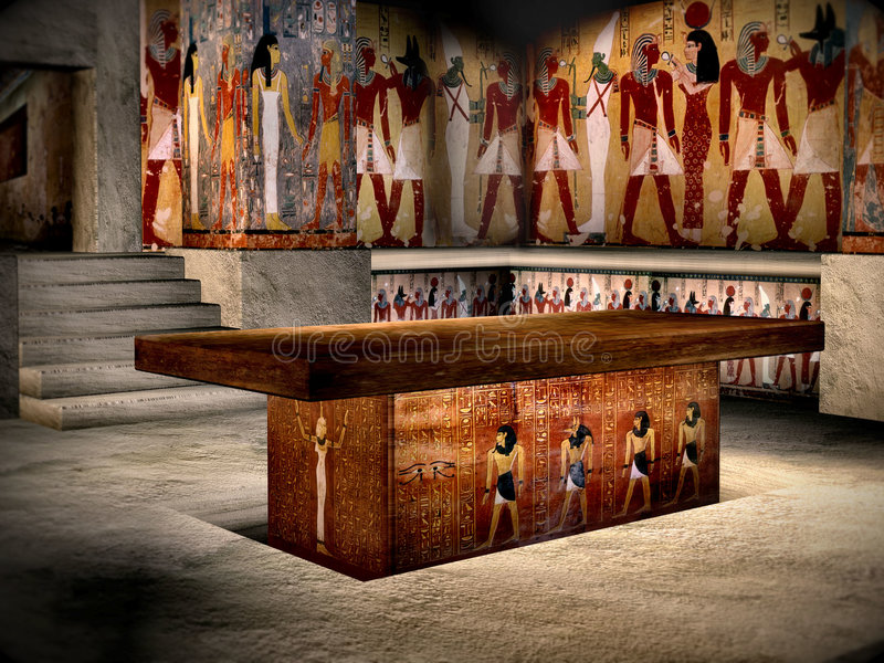 Tomb of Egypt 4 royalty free stock photo