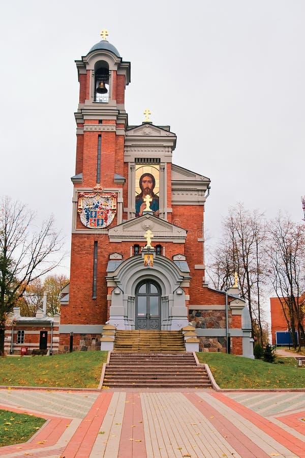 tomb för svyatopolk för kapellmirskiprinces royaltyfria foton