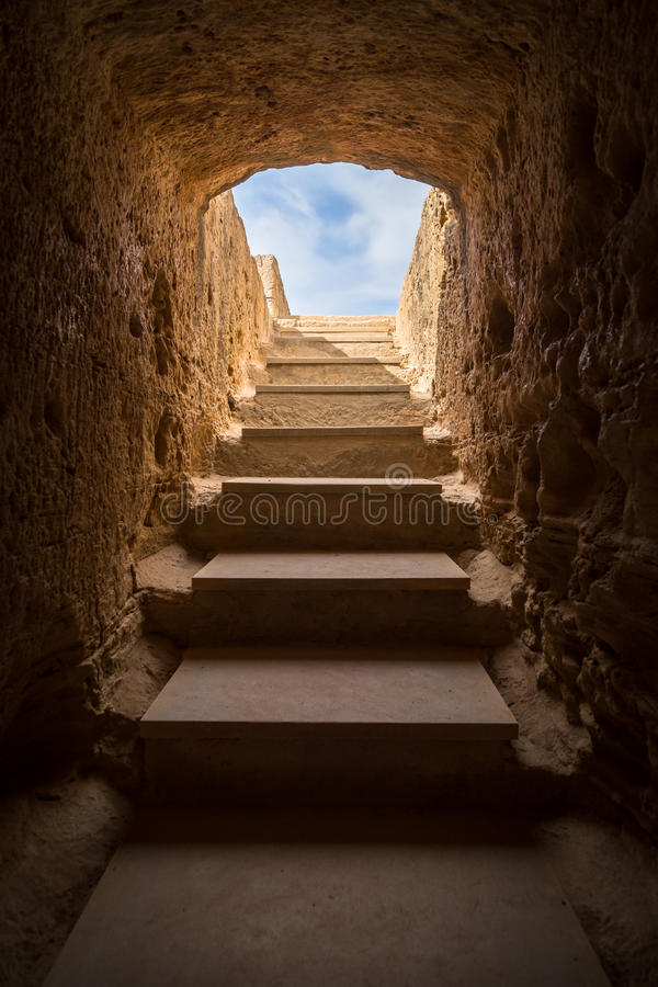 Tomb of Kings. royalty free stock photo