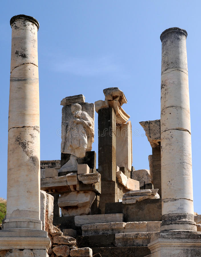 Download Tomb of Memmius in Ephesus stock photo. Image of archaeology - 22219500