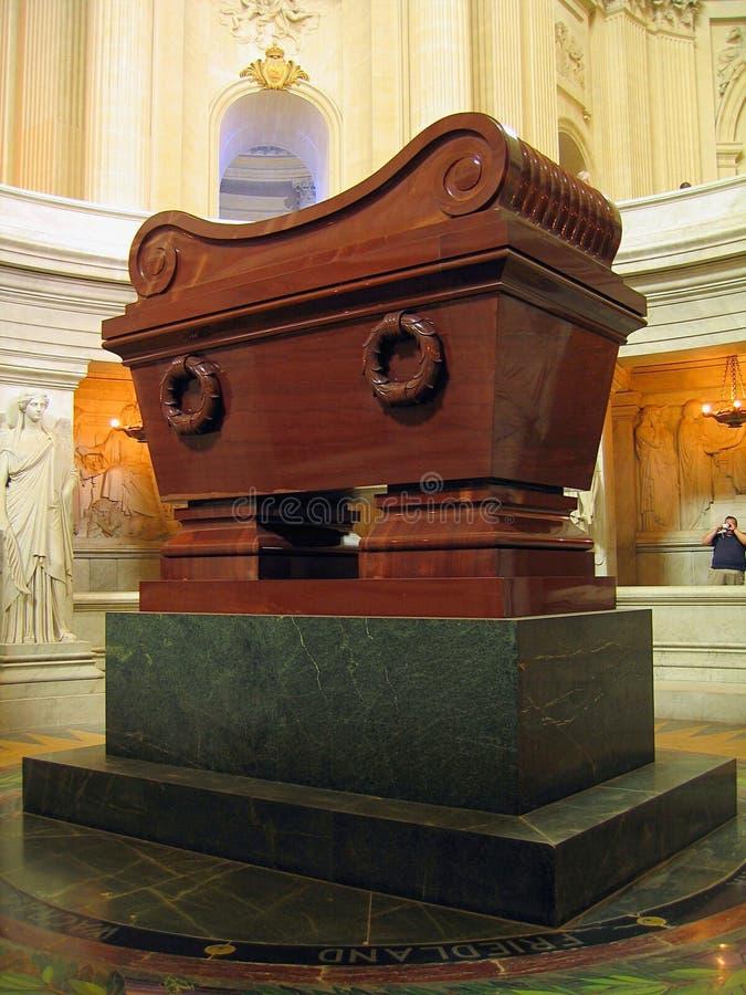 Tomb of Napoleon Bonaparte, Dome des Invalides, Paris royalty free stock photo