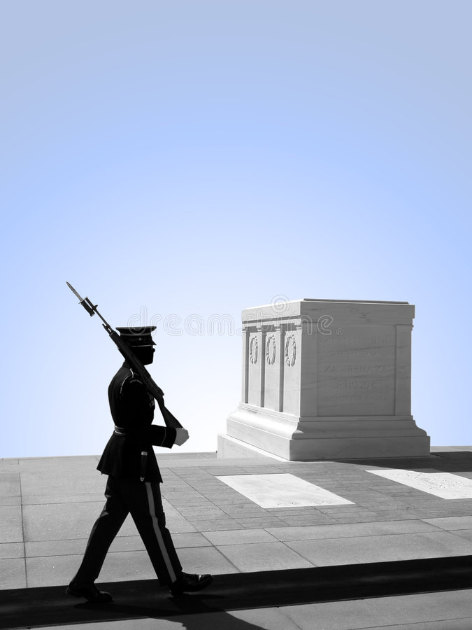 Free Tomb Of The Unknown Soldier, Arlington National Cemetery Royalty Free Stock Image - 612836