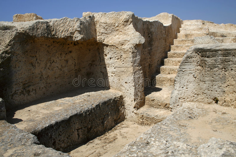 Download Tomb ruins in Cyprus stock photo. Image of stadium, kings - 2905338