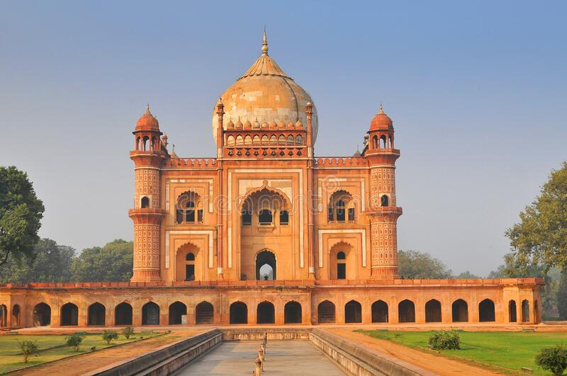 Tomb of Safdarjung, New Delhi, Delhi, India, Asia. Tomb of Safdarjung in New Delhi, Delhi, India, Asia stock photography