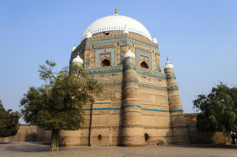 Tomb of Shah Rukn-e-Alam Multan stock photos
