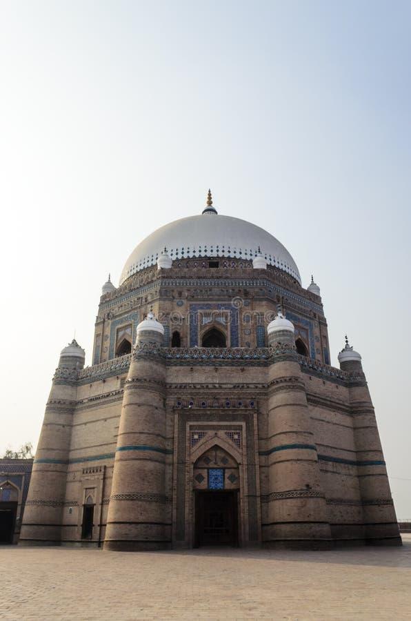 Tomb of Shah Rukn-e-Alam Multan stock photography