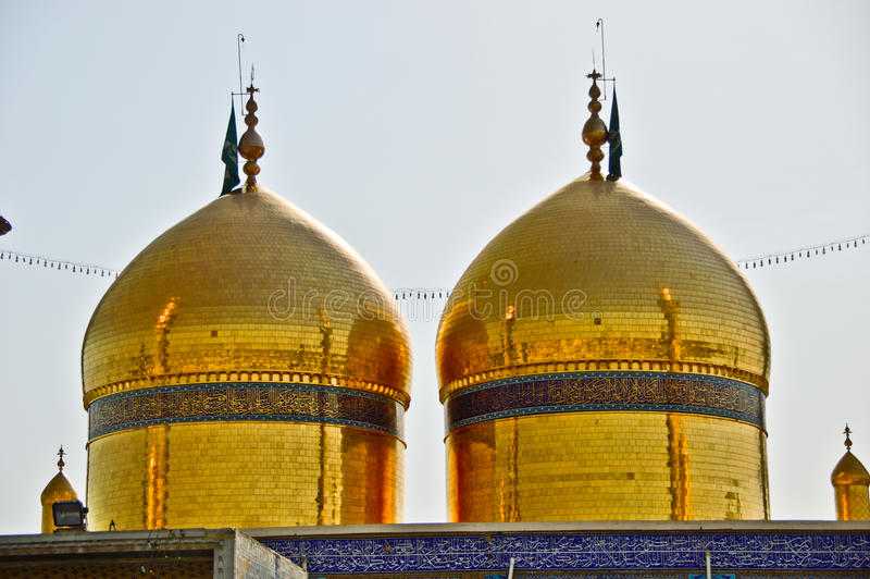 Tomb shrine of Imam Musa al-Kadhim royalty free stock photography