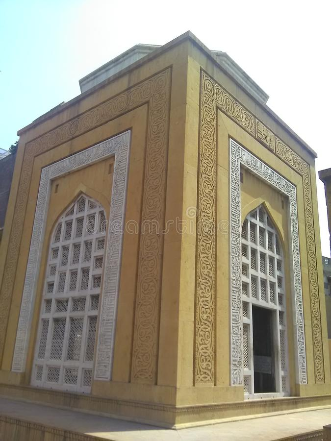 Tomb Of Sultan Qutb ud Din Aibak stock images