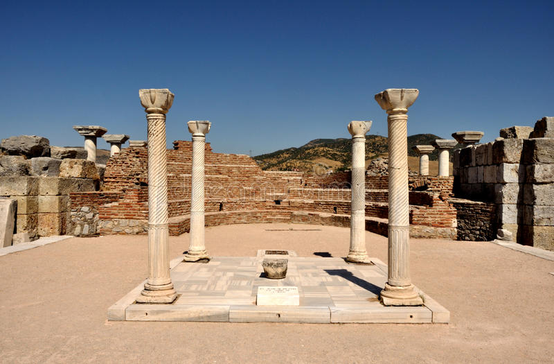 The Tomb of St. John, Turkey royalty free stock image