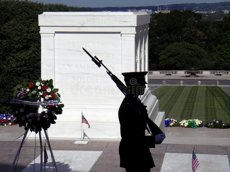 Tomb of the Unknown Soldier royalty free stock photo
