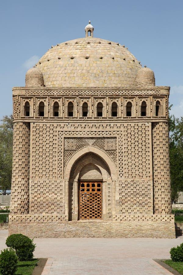 Tomba a Buchara, l'Uzbekistan fotografia stock