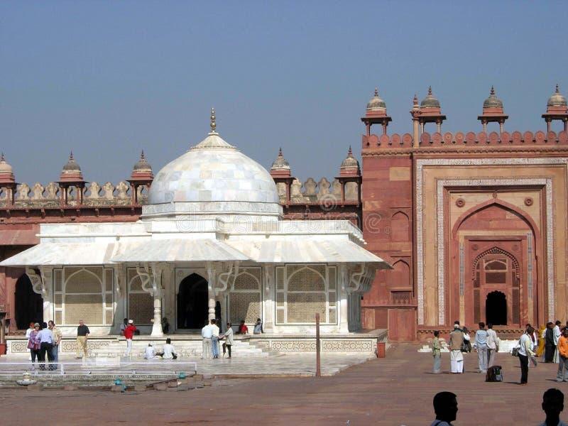 Tomba dei chisti di Salim fotografie stock libere da diritti
