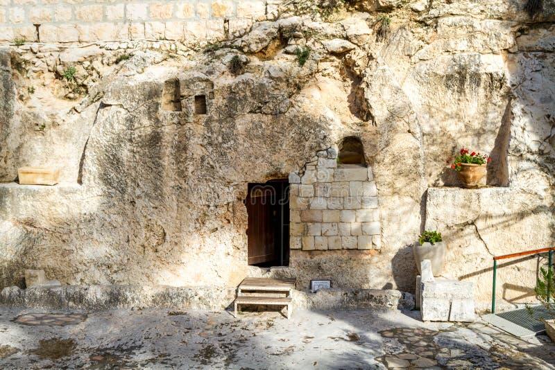 Tomba del giardino, Gerusalemme fotografie stock