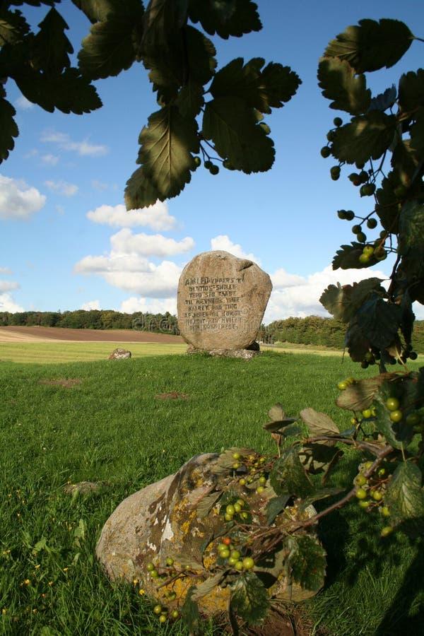 Tomba del Hamlet immagine stock libera da diritti