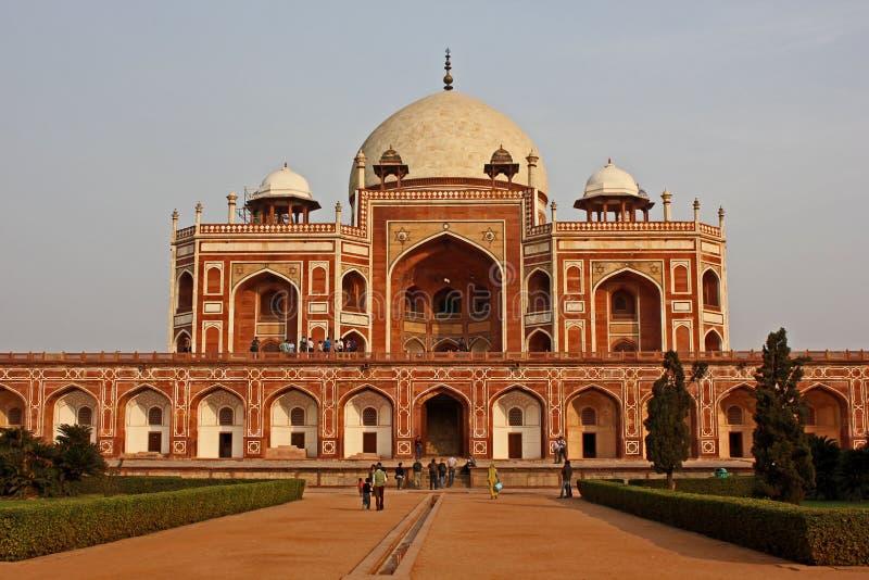 Tomba del Humayun, Delhi fotografia stock