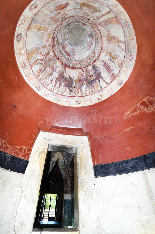 Tomba del re di Thracian immagini stock libere da diritti