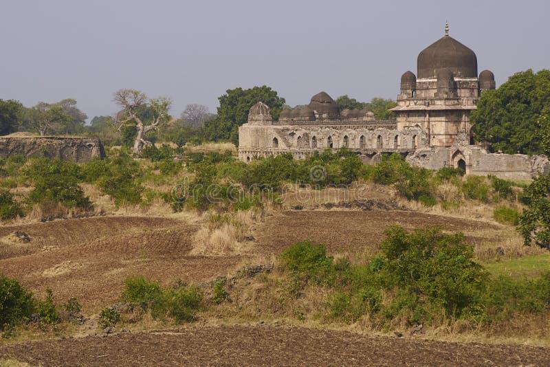 Tomba del ` s di Darya Khan in Mandu, India immagine stock