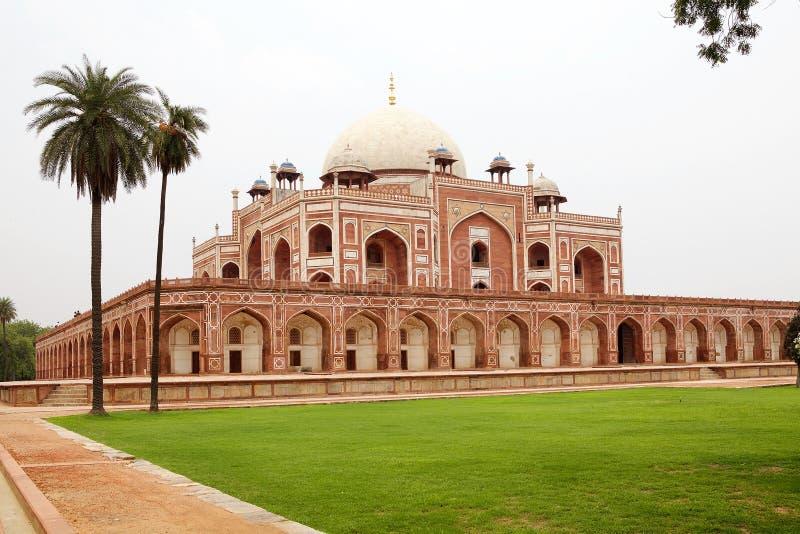 Tomba del ` s di Humayun, Delhi, India immagini stock libere da diritti