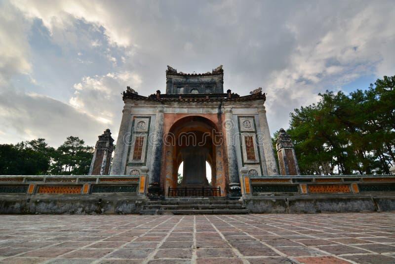 Tomba del Tu Duc Hué vietnam immagini stock