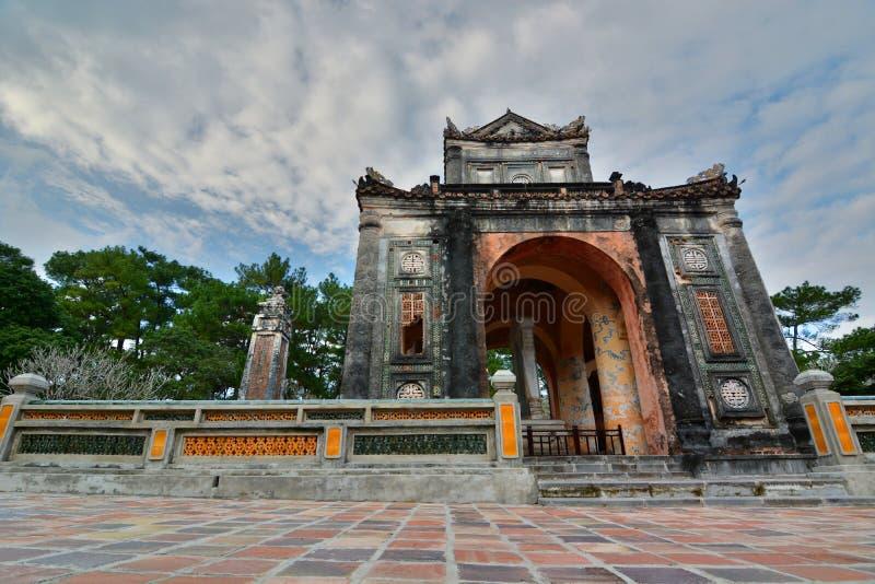 Tomba del Tu Duc Hué vietnam immagine stock libera da diritti