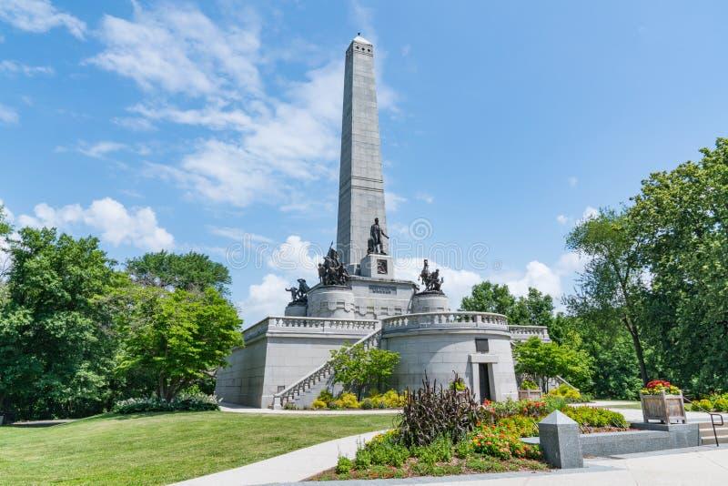 Tomba di Abraham Lincoln immagine stock