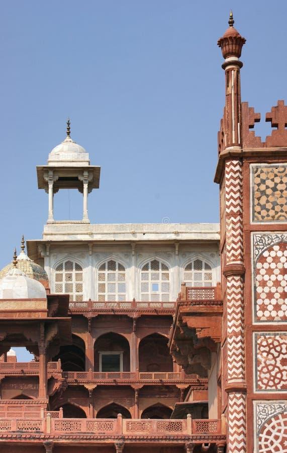 Tomba di Akbar le grande immagine stock