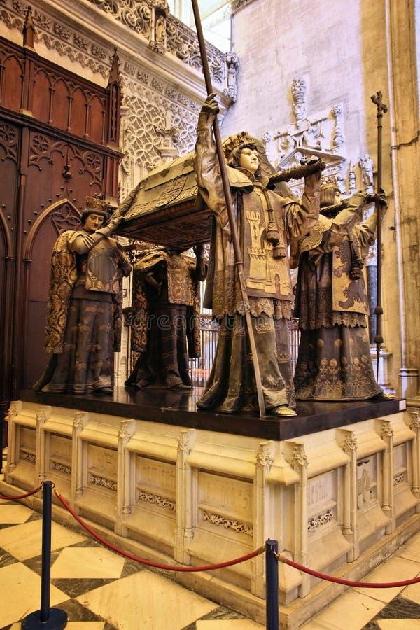 Tomba di Cristoforo Colombo fotografia stock libera da diritti