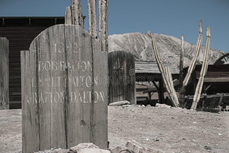Tomba di Farwest immagine stock