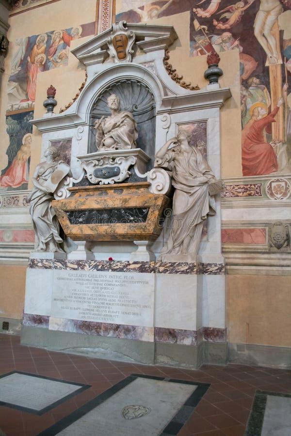 Tomba di Galileo Galilei immagine stock libera da diritti