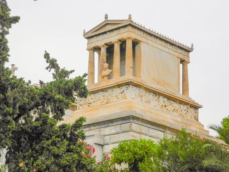 Tomba di Heinrich Schliemann fotografia stock libera da diritti