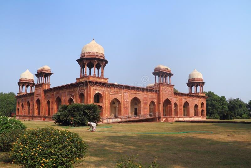 Tomba di Mariam Uz Zamani a Agra fotografia stock libera da diritti