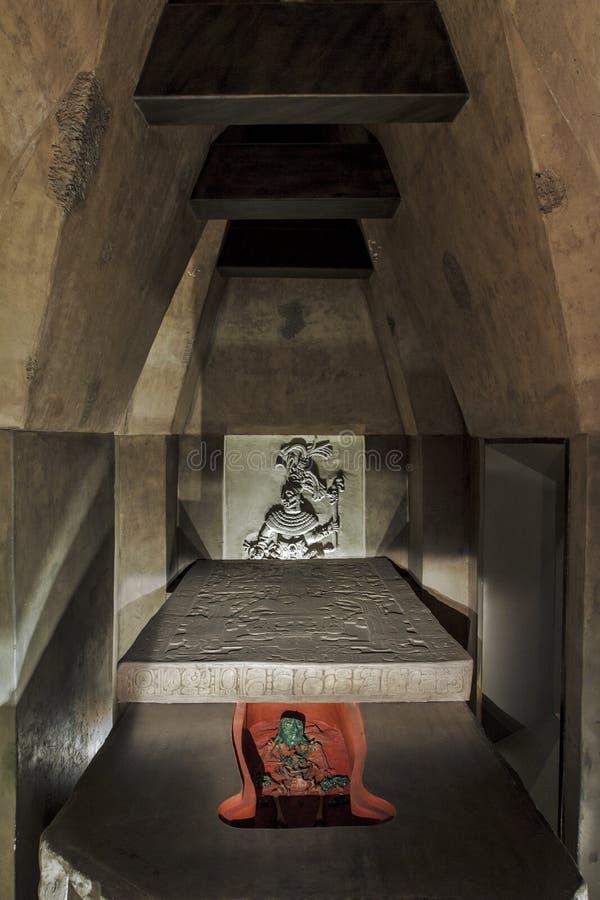 Tomba di profezia 2012 del Messico del maya fotografie stock
