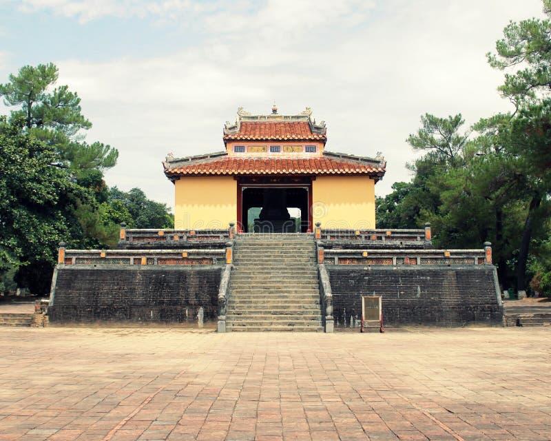 Tomba di un imperatore fotografie stock libere da diritti