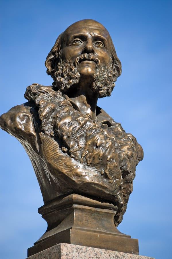 Tomba Offenbach di Parigi Montmartre immagini stock libere da diritti