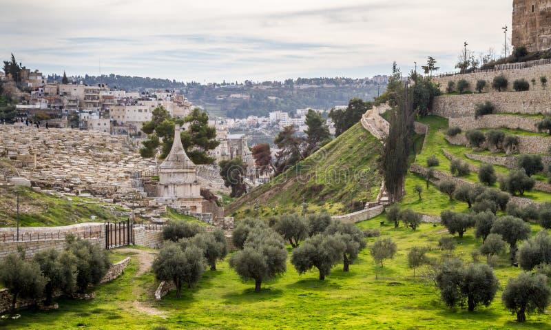 Tombe d'Absalom, Jérusalem photos libres de droits