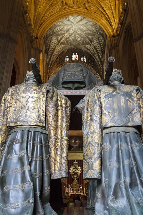 Tombe de Christopher Columbus image libre de droits